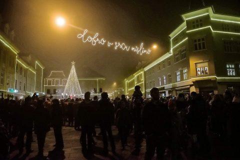 Kranj izbran za najlepše okrašeno slovensko mesto