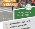 Obvestilo o zapori cest – kolesarski praznik v Kranju